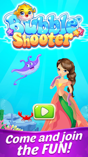 New Bubble Shooter – Mermaid  Bubble 1