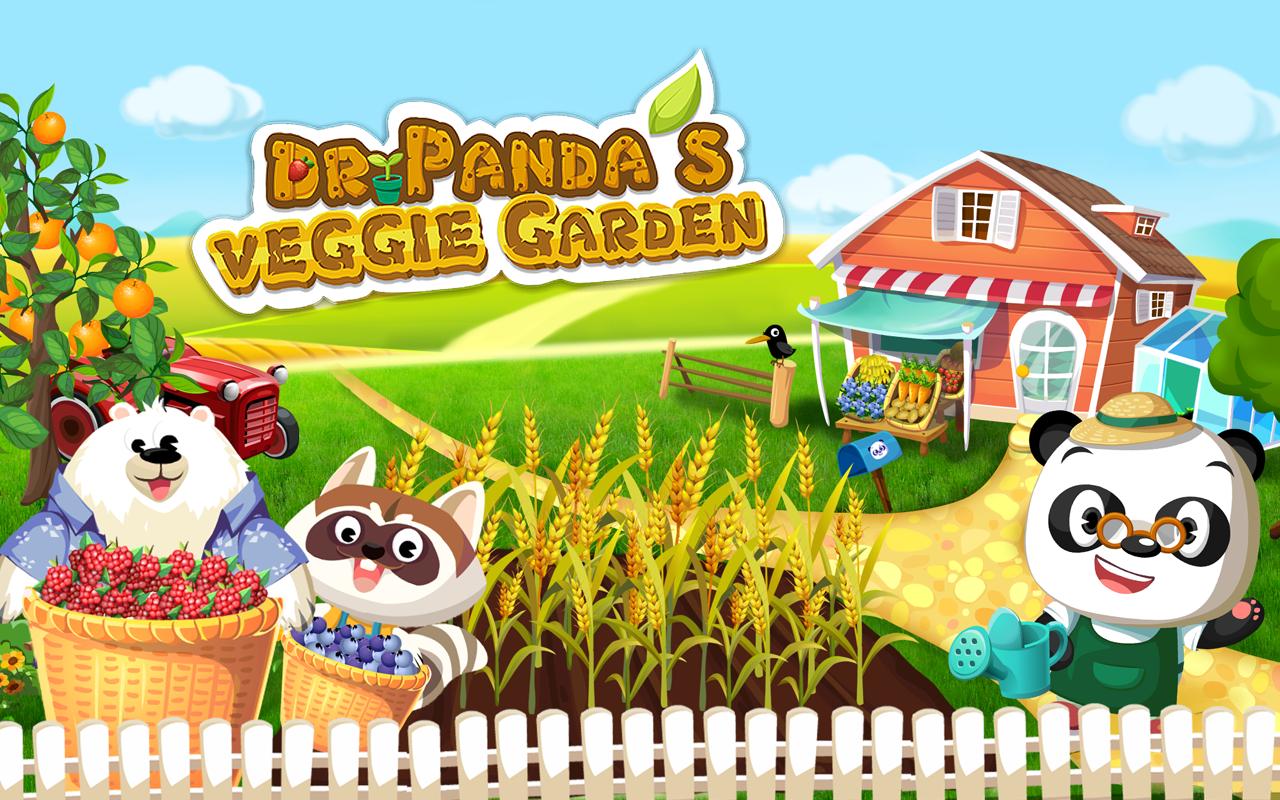 Dr. Panda's Veggie Garden- screenshot