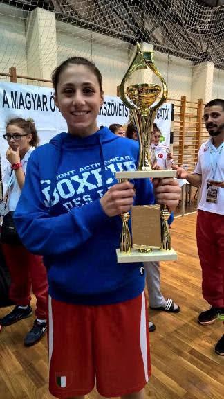 3 Ori, 2 Argenti e 3 Bronzi è Grande Italia all'Europeo Junior e Youth Femminile in Ungheria