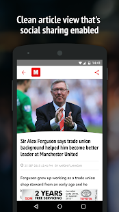 The Mirror App: World News- screenshot thumbnail