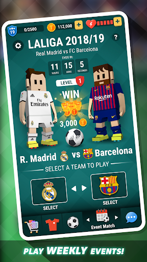 Tiny Striker LaLiga 2019 - Soccer Game 1.0.13 screenshots 2