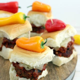 Sweet & Spicy Meatball Sliders
