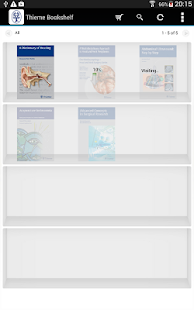 Thieme Bookshelf- screenshot thumbnail