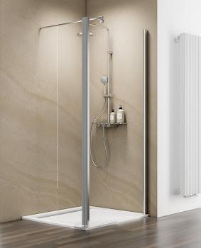 Erweiterung bewegliches Element für bestehende Duschwand Walk In M8