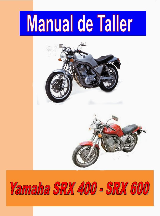 Yamaha SRX 600-manual-taller-despiece-mecanica