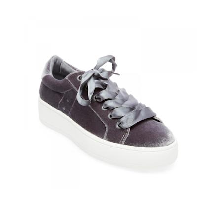 Bertie - V Sneaker Grey - Steve Madden