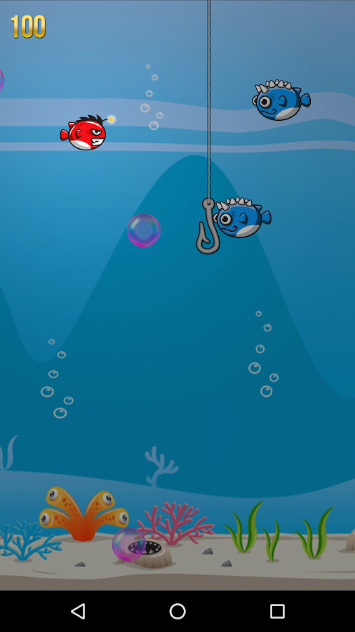 Bubble fish in darkness android apps on google play for Bubble fish game