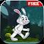 Rabbit Kid Run Free icon