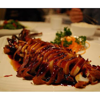 Squid Teriyaki.