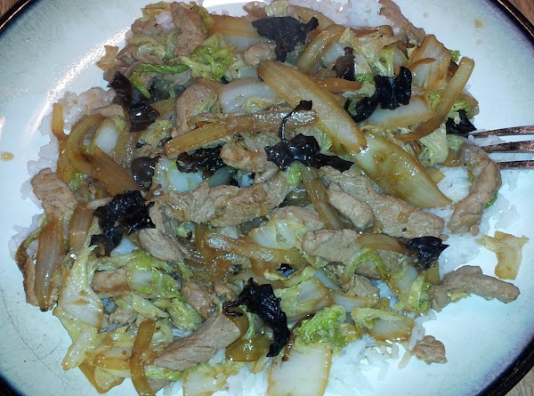 Pork And Napa Cabbage Stir Fry Recipe