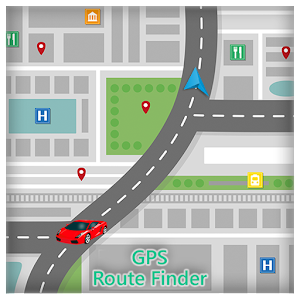 GPS Route Finder : Navigation 1.0 Icon