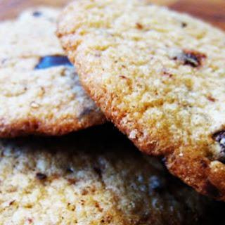 Chocolate Chip Cookies a la Anna Olson.