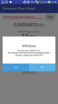 ETH Miner Robot on Google Play Reviews | Stats