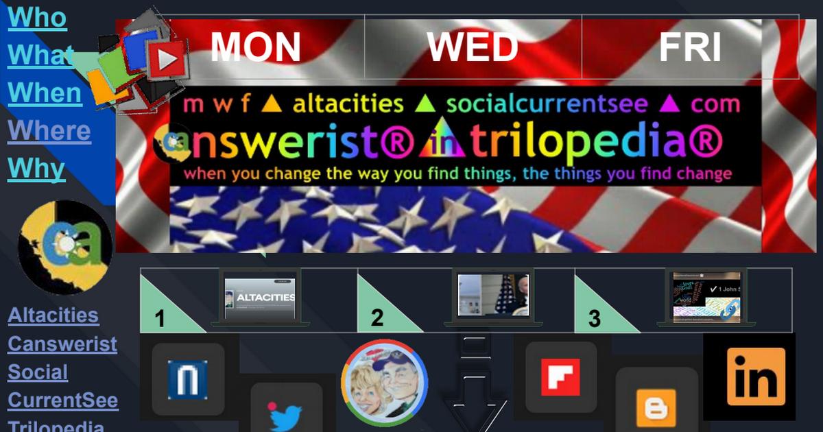 Right Now In Left Coast ▶ Blogs ▶ TriloGI ▶ 3.26.21