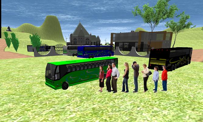Public Bus Duty Driver 3D - screenshot