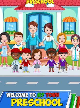 My Town Preschool Apk