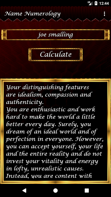 Stellate Nova Numerology – (Android Apps) — AppAgg