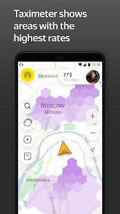 Taximeter — find a driver job in taxi app for ride Screenshot