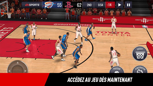 NBA LIVE Mobile Basket-ball  captures d'écran 5