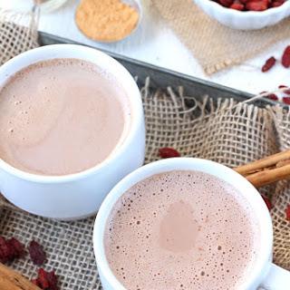 Goji Berry Hot Chocolate.