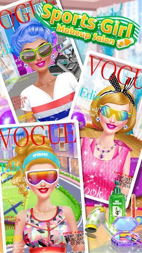 ud83dudc67ud83dudc57Sports Girl Makeup - Keep Fit  screenshots 14