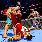 Wrestling Ring Fighting Champion