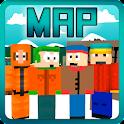 Карта Саус Парк для Майнкрафт icon