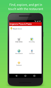 Angeno's Pizza & Pasta- screenshot thumbnail