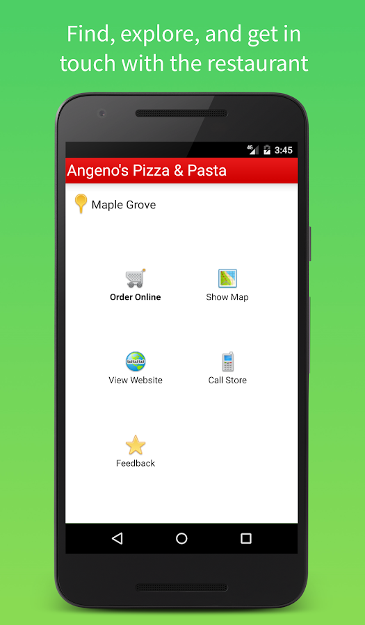 Angeno's Pizza & Pasta- screenshot