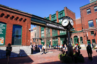 Photo: The Distillery district