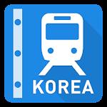 Korea Rail Map - Seoul & Busan Icon