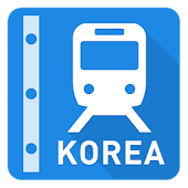 Korea Rail Map - Seoul & Busan