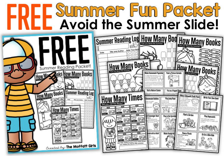 Avoid the Summer Slide by keeping students engaged during summer break!