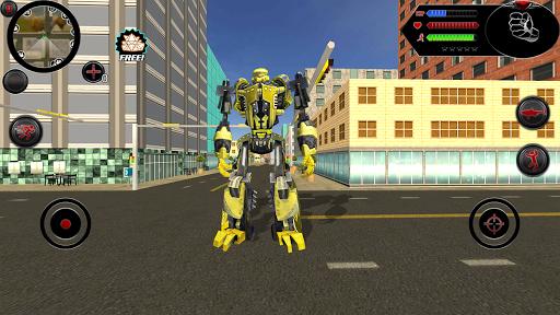 Wild Robot Shark Attack - Transforming Shark Robot 1.0 screenshots 3