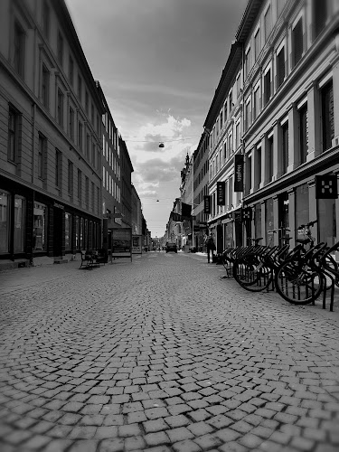 Street view by Elisabeth Sjåvik Monsen - City,  Street & Park  Street Scenes ( oslo, town, city, street scene, bw, street, norway, cityscape, black and white, street photography,  )
