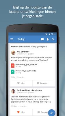 Speakap - screenshot