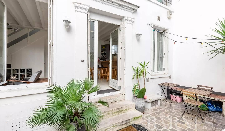 Maison avec terrasse Paris 9ème