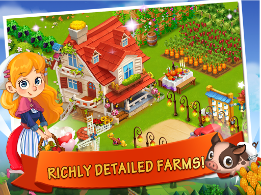 Happy Farm:Candy Day screenshot 6