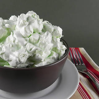 """Green Stuff"" Marshmallow Salad."