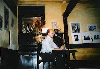 Photo: ...en el Café Libertad