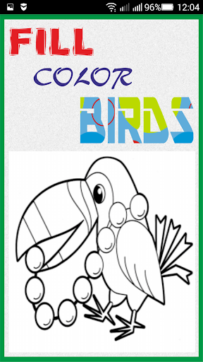Fill Color In Birds