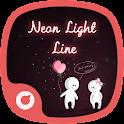Neon Light Line-Solo Theme icon