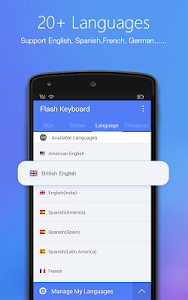 Flash Keyboard - Emojis & More v1.0.34