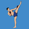 Kickboxing - Fitness Workout and Self Defense icon