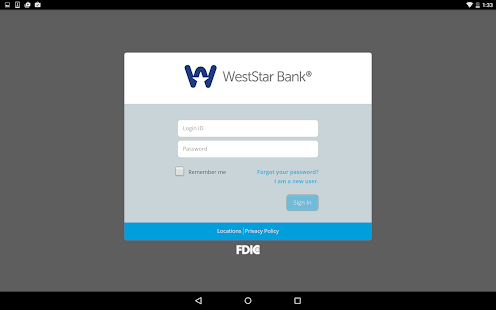 WestStar Bank Mobile Banking- screenshot thumbnail