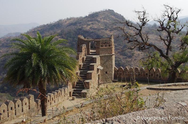 Kumbhalgarh muraille