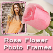 Rose Flower Beautiful Latest Love Photo Frames