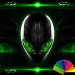 Alien Xperien Theme