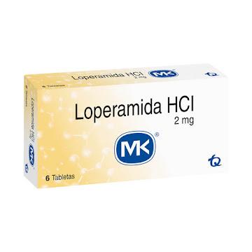 Loperamida MK 2mg   Tableta Caja x6Tab.