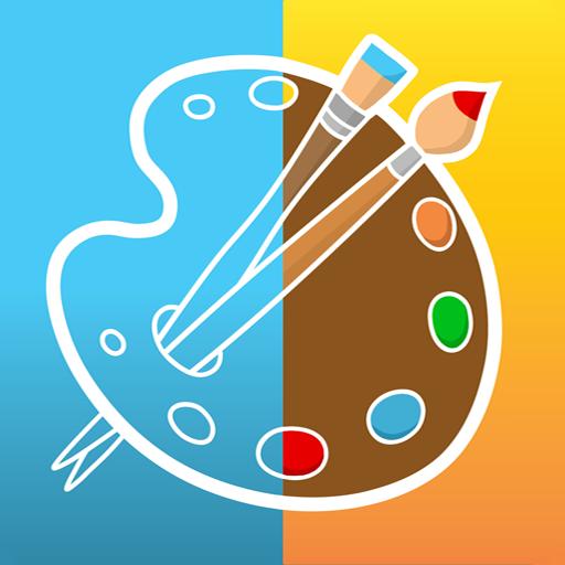 教育のPicsArtキッズ  ドローイング  カラーリング LOGO-記事Game